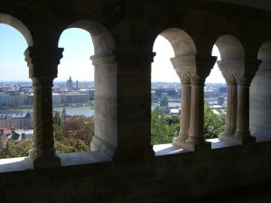 View Across the Danube from Castle Hill, Budapest