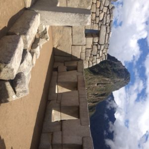 room at machu picchu