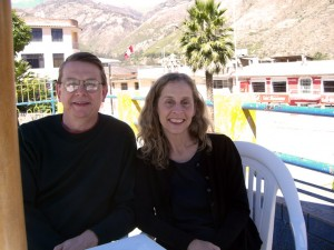 Rory and Connie in Peru